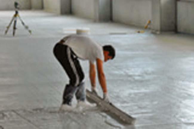 Sottofondi, Pavimenti industriali in calcestruzzo