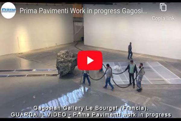 Gagosian Museum, realizzazione pavimenti in resina Ultratop